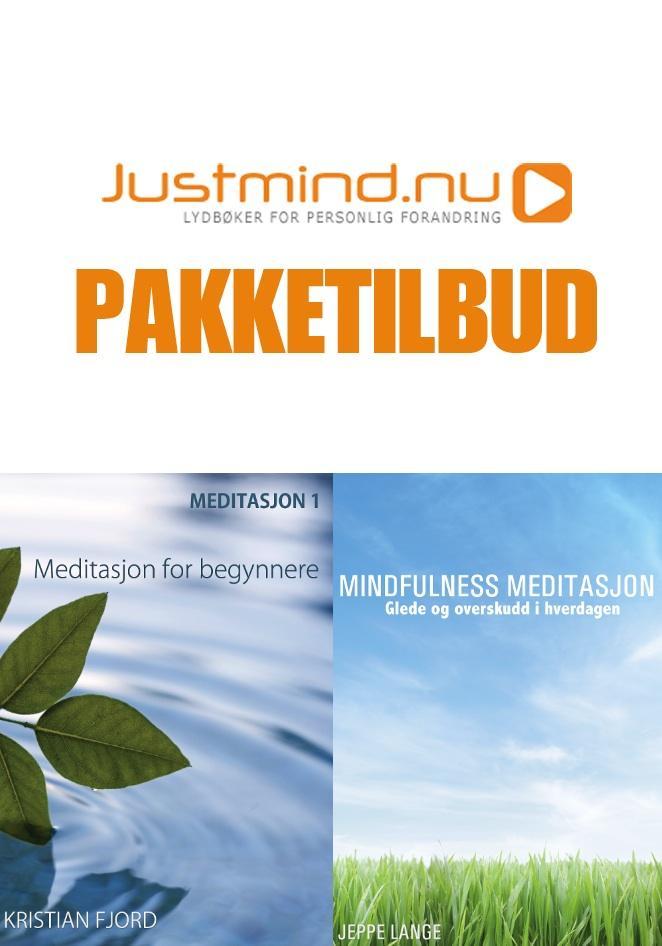 Mindfulness Meditasjon + Meditasjon 1 (Pakketilbud)
