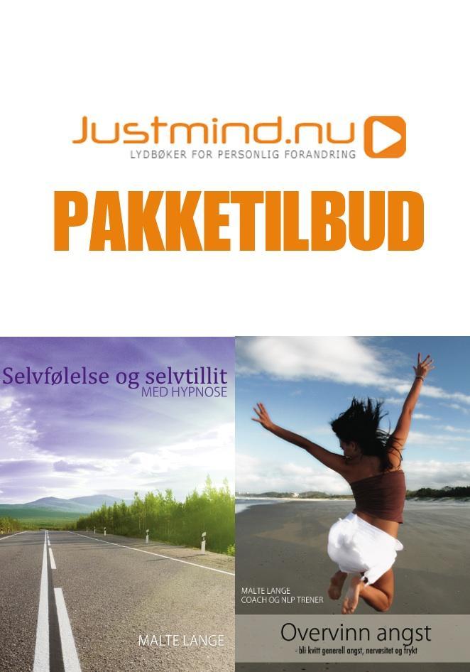 Overvinn angst + Selvfølelse og selvtillit med hypnose (Pakketilbud)