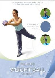 Pilates weight ball workout